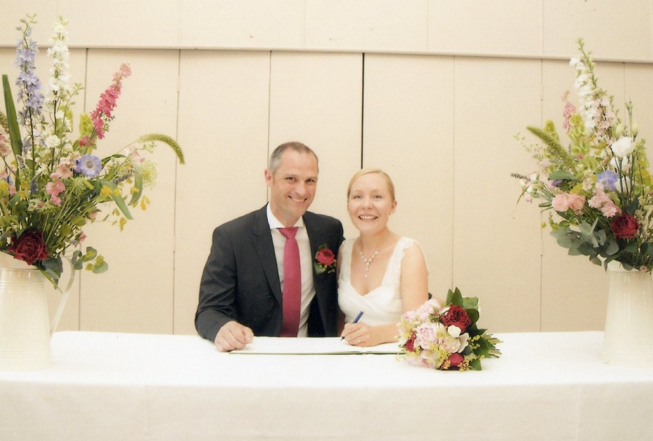 Helen and Steve, Toft Hotel Nr Stamford
